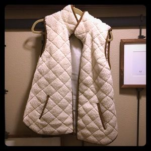 Old Navy Faux Shearling Vest